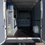 zabudowa warsztatowa używana Sortimo auto : Citroen Jumper L4H2
